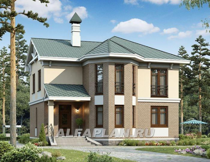 Фасады домов с эркером фото